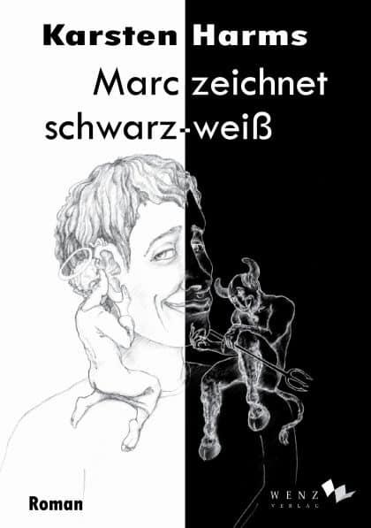 Interview mit Karsten Harms über das Buch : Marc Zeichnet schwarz – weiß – Podcast