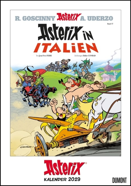 Asterix Coverkalender 2019