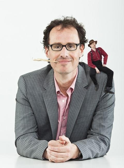 """Dietrich Faber mit """"Hessen zuerst - die Show zum Buch"""" in Gießen 1"""