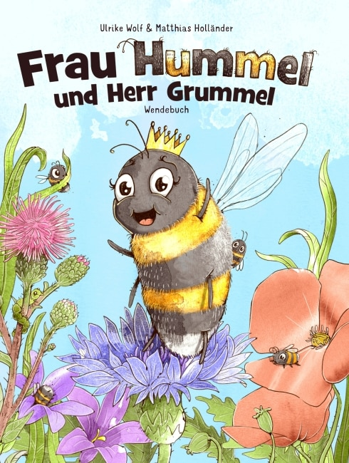 [Interview] über Hummeln und dem Kinder Buch Frau Hummel und Herr Grummel mit Ulrike Wolf 2