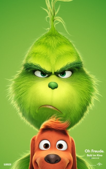 Der Grinch ab 29 November 2018 im Kino