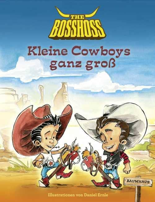 Interview mit : The BossHoss über das Buch Kleine Cowboys ganz gross - Podcast 2
