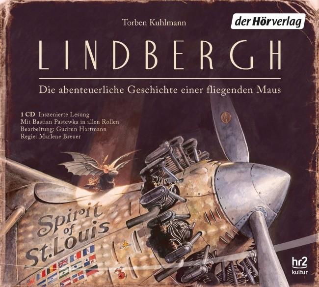 """""""Lindbergh"""" zum Kinder- und Jugendhörbuch des Jahres 2016 gewählt"""