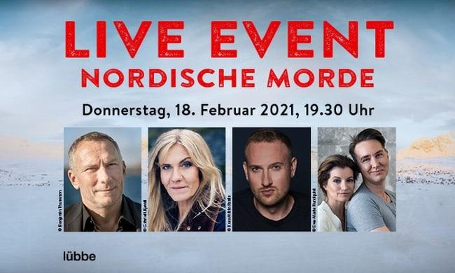"""Digitales LIVE EVENT """"Nordische Morde"""" am Donnerstag, den 18. Februar 2021 2"""