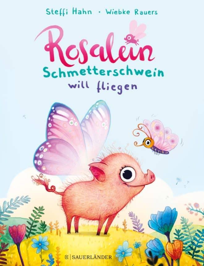 [Interview-Podcast] Rosalein Schmetterschwein will fliegen mit Steffi Hahn 2