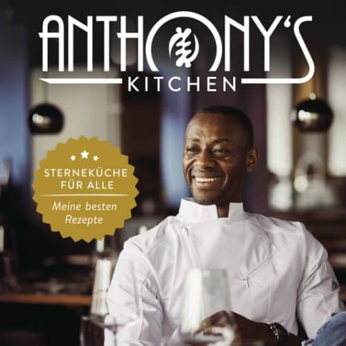 Interview über das Buch : Anthony's Kitchen mit  Anthony Sarpong - Podcast