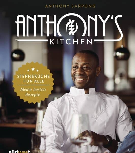Interview über das Buch : Anthony's Kitchen mit  Anthony Sarpong – Podcast