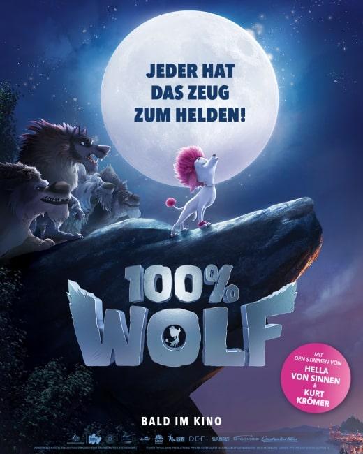 [Kino] 100% Wolf ab 01.07.2021 im Kino 8