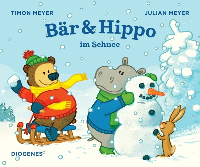 [ Rezension] Bär & Hippo im Schnee – Julian Meyer, Timon Meyer 6