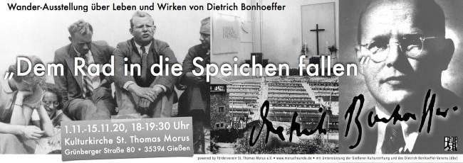 """Dietrich Bonhoeffer """"Dem Rad in die Speichen fallen"""" 2"""