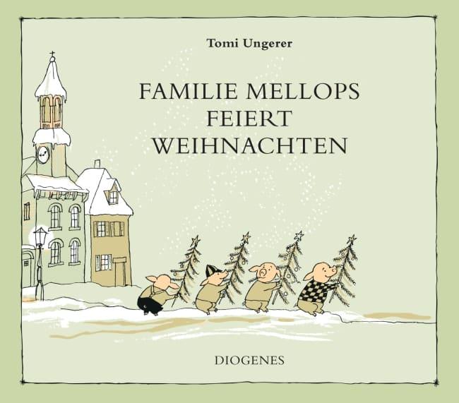 [Rezension] Familie Mellops feiert Weihnachten – Tomi Ungerer 2