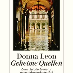 [Interview] Donna Leon über das Buch: Geheime Quellen
