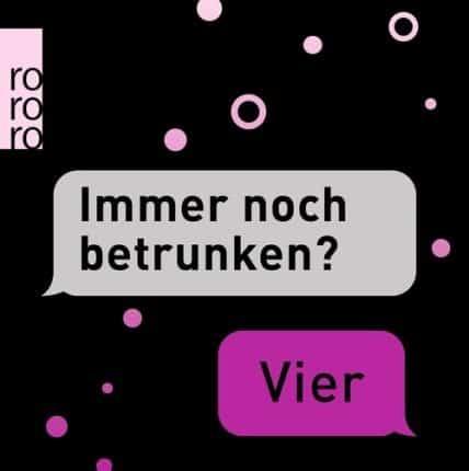 """""""Immer noch betrunken?"""" - """"Vier""""– Anna Koch (Hg.), Axel Lilienblum (Hg.)"""