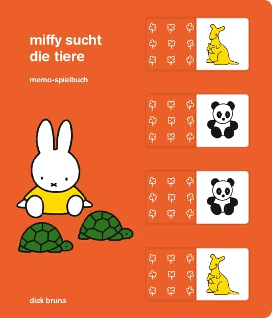 [Rezension] Miffy sucht die Tiere – Dick Bruna 2
